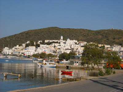 Adamas - the Port of Milos