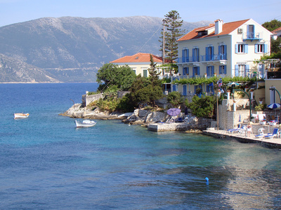 A village on Kefalonia