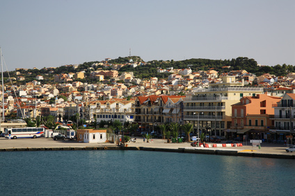 Argostoli, the capital of Kefalonia